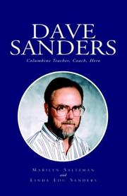 Cover of: Dave Sanders