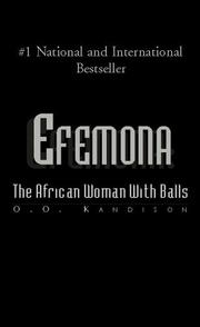 Cover of: Efemona | O.O. Kandison