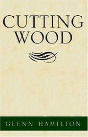 Cover of: Cutting Wood