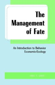 Management Of Fate by Eric Graf