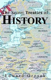 Cover of: The Secret Treaties of History | Edward Grosek