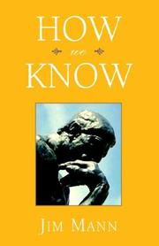 Cover of: How We Know