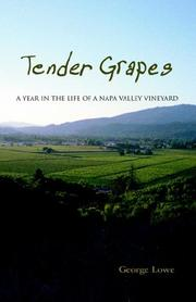 Cover of: Tender Grapes