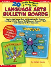 Cover of: 20 Totally Awesome & Totally Easy Language Arts Bulletin Boards (Grades 4-8)
