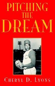 Cover of: Pitching the Dream | Cheryl D. Lyons