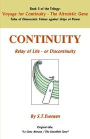 Cover of: Voyage for Continuity - Book 3