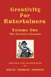 Creativity For Entertainers Vol. I