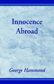 Cover of: Innocence Abroad | George Hammond