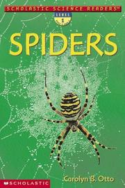 Cover of: Spiders | Carolyn B. Otto