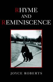 Cover of: Rhyme And Reminiscence | Joyce Roberts