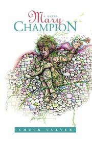 Cover of: Mary Champion