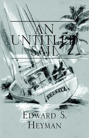 Cover of: An Untitled Sail