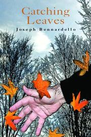 Cover of: Catching Leaves | Joseph Bennardello