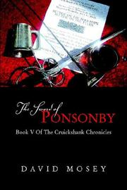 Cover of: The Sword of Ponsonby