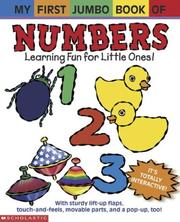 Cover of: My first jumbo book of numbers |