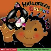 Cover of: Halloween colors