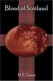 Cover of: Blood of Scotland