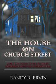 Cover of: The House on Church Street | Randy R. Ervin
