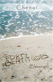 Cover of: Forty Beatitudes | Chenai