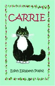 Cover of: Carrie | Edith Elizabeth Pollitz