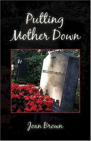 Cover of: Putting Mother Down | Joan Brown