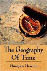 Cover of: The Geography of Time | Munayem Mayenin