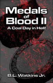 Cover of: Medals of Blood II | B.L. Watkins Jr.