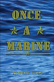 Cover of: Once a Marine | Robert Cook