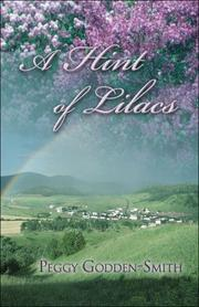 Cover of: A Hint of Lilacs | Peggy Godden-Smith