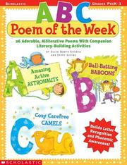 Cover of: Abc Poem Of The Week