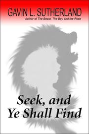 Cover of: Seek, and Ye Shall Find