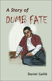 Cover of: A Story of Dumb Fate