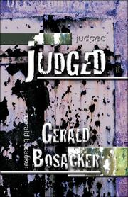 Cover of: Judged