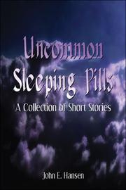 Cover of: Uncommon Sleeping Pills