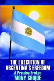 Cover of: The Execution Of Argentina