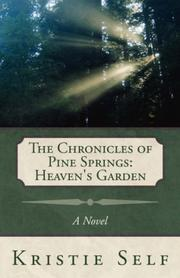 Cover of: The Chronicles of Pine Springs | Kristie Self