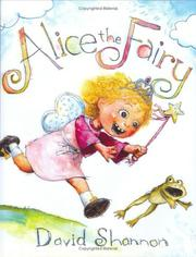 Cover of: Alice the fairy | David Shannon