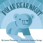 Cover of: Polar bear night