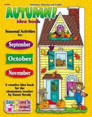 Cover of: Autumn Idea Book