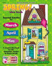 Cover of: Spring Idea Book
