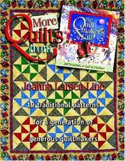 Cover of: More quilts from The quiltmaker