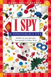Cover of: I spy a dinosaur's eye | Jean Little
