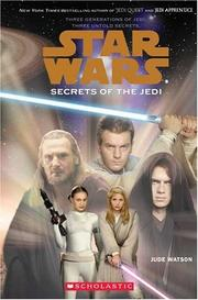 Cover of: Secrets of the Jedi