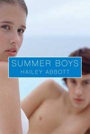 Cover of: Summer Boys | Hailey Abbott