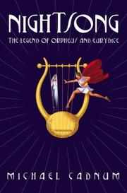 Cover of: Legend Of Orpheus And Eurydice (Nightsong)