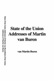State of the Union Addresses of Martin Van Buren