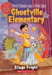 Cover of: Stage Fright (Ghostville Elementary)