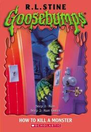 Cover of: How To Kill A Monster | R. L. Stine