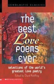 Cover of: The Best Love Poems Ever