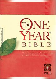 Cover of: One Year Bible, the Nltse Sc (One Year Bible:Nltse) | Tyndale